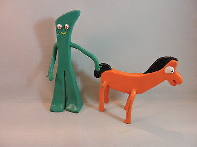 Vintage Gumby 6 inch Bendy Figure with Pokey