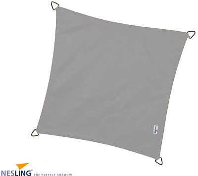 Voile d'ombrage carrée Coolfit anthracite