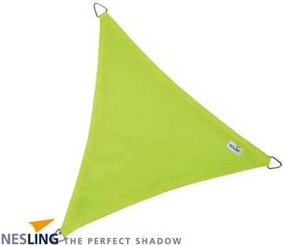 Voile d'ombrage triangulaire Coolfit vert lime