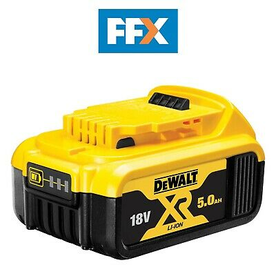 Genuine DeWalt DCB184 18v XR Li-Ion 5.0ah Battery Pack