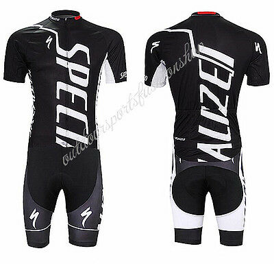 Bicycle Team Mens Racing Bike Clothing Short Sleeve Jersey Bib Pant Sport Sets