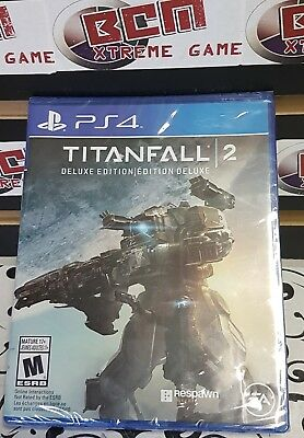 Titanfall 2: Deluxe Edition PS4 Playstation 4 - BRAND NEW