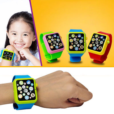 Educational Smart Watch Child Early Learning 3D Touch Screen Music Baby Kid Toy.