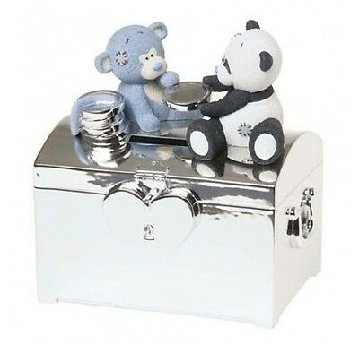 Me to You Blue Nose Friends Money Box Binky & Coco Christening New Baby Gift