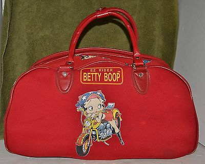 Betty Boop EZ Riders Red Duffle Bag / Evening Bag