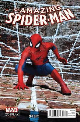 Marvel Comics Amazing Spider-man #1 2015 Cosplay Variant Cover NM