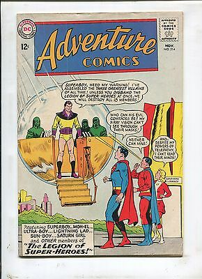 ADVENTURE COMICS #314 - THE SUPER-VILLAINS of ALL AGES! - (4.5) 1963