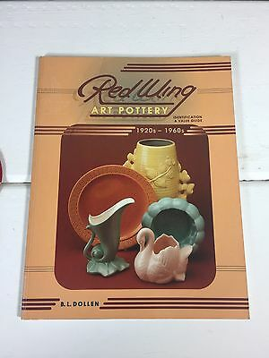 Red Wing Art Pottery Collectors Guide Soft Cover, Reference Book 1920-1960