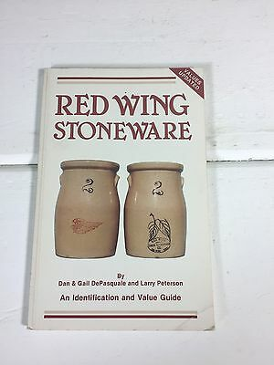 Red Wing Art Pottery Collectors Guide Softcover, Reference Book 1983 Update 1995