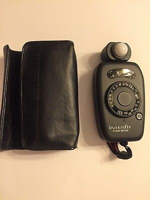 Interfit 410 Flash Meter INT410 With Caring Case And Strap New With Box