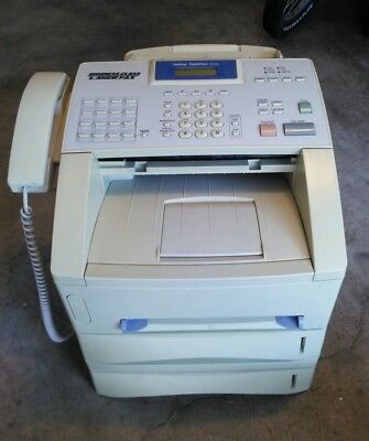 Brother IntelliFax 4100 Business Class Laser Fax and bottom second tray