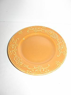 Homer Laughlin, Oven Serve, Vintage, Bread Butter Plate, Pumpkin Orange, Nice