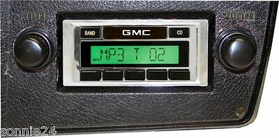 1973-1986 GMC Truck radio am/fm ipod XM MP3 Custom Autosound USA-230
