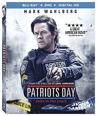 Patriots Day - Blu-ray FREE FIRST CLASS SHIPPING !!!!