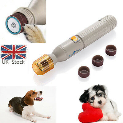 Pets nail clipper Pedi Painless Pet Dogs Cats Paw Nail Trimmer Cut Electric Pets