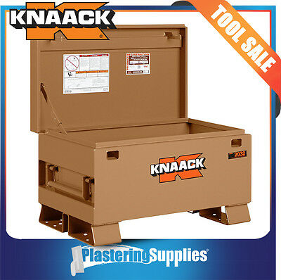 KNAACK Tool Chest Site Box Jobsite Storage  Lockable  CLASSIC™ 2032AZ Clearance