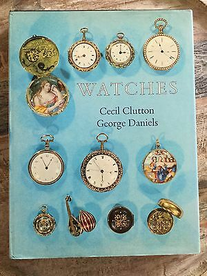 Watches By Cecil Clutton & George Daniels Vintage Pocket Watch Price Book 1965