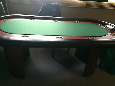 Poker table - 10 person with arch legs