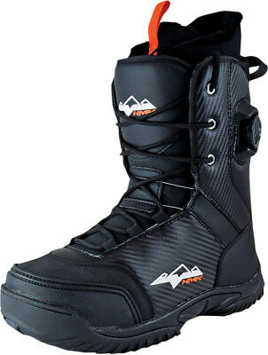 HMK 2016 Adult Snowmobile Pro 2 Hybrid Boa Boot Black Boots Size 8-13