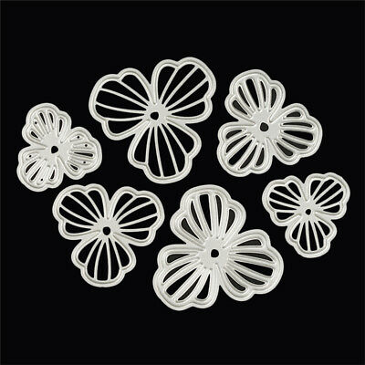 10pcs Metal Cutting Dies Stencil Scrapbooking Card Embossing Template Craft