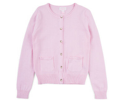 Pumpkin Patch Girls' Carly Rose Cardigan - Orchid Pink