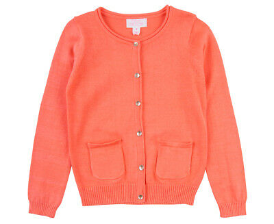 Carly Rose Cardigan - Fusion Coral