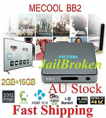 MECOOL BB2 S912 Octa Core 2G+16G WiFi 2.4G/5G/ac A'6/Kodi17 Smart Box