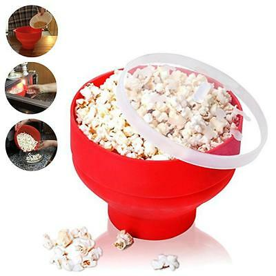 Microwaveable Popcorn Maker Pop Corn Bowl Lid Microwave DIY Popcorn Bucket Tools