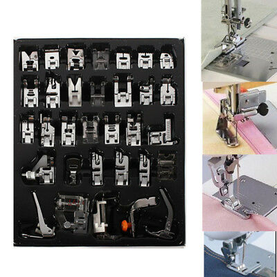 1 Set Of 32pcs Presser Foot Domestic Sewing Machine Feet for Brother Babylock