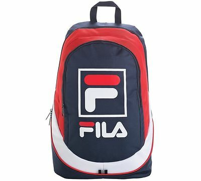 FILA Medium Backpack School And College Days Work Day Bag And For Blue/Pink_UK