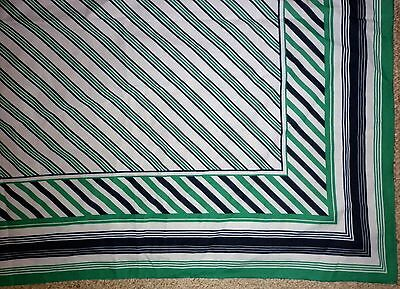 VINTAGE 1970s GEOMETRIC  PRINT  SCARF GOOD CONDITION
