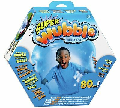 Super Wubble Bubble Ball Nozzle And Patch Kit And Deflates For Easy Storage