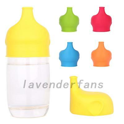Toddlers Babies Silicone Sippy Lids For Any Cup Spill Proof Reusable