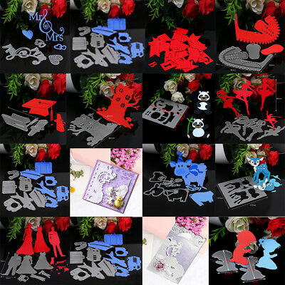 Metal Embossing Cutting Dies Stencil DIY Scrapbooking Album Paper Card Decor