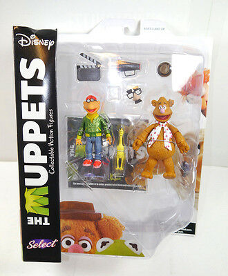DISNEY SELECT The Muppets - Fozzie & Scooter Actionfigur DIAMOND SELECT Neu (L)