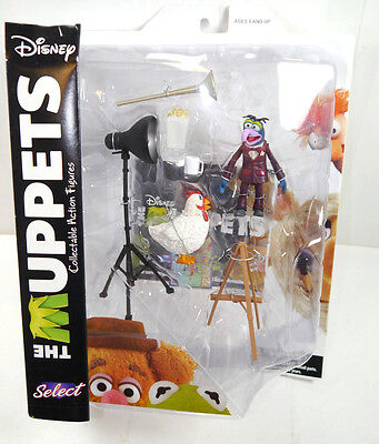 DISNEY SELECT The Muppets - Gonzo & Camilla Actionfigur DIAMOND SELECT Neu (L)