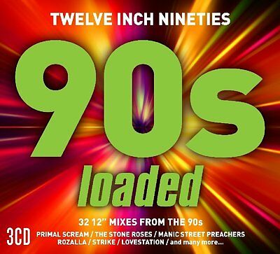 Various - Twelve Inch Nineties: Loaded (2017)  3CD  NEW/SEALED  SPEEDYPOST