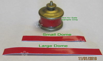 "American Flyer Red Tape for Domes of ""Franklin"" locomotive (210)88"