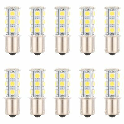 10Pcs 1156 BA15S / 1141 / 1073 / 1093 18 SMD 5050 LED Replacement Bulb Light 12V