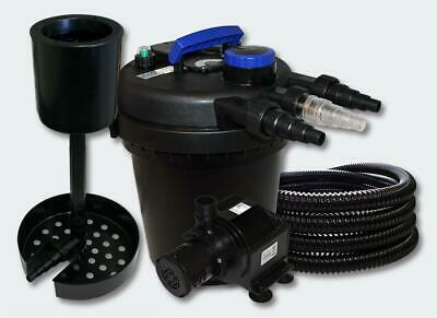 Kit de Filtration à Pression 6000l UVC 11W Pompe Ecumeur 50 Fontaine Helloshop2