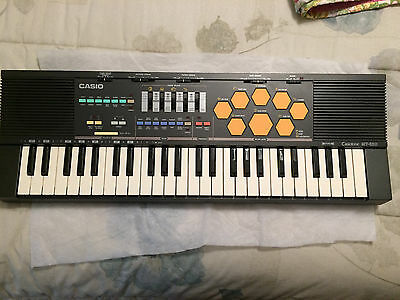 VTG Casio Casiotone MT-520 Synthesizer Electronic Keyboard Drums exc. Work Cond