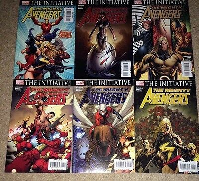 The Mighty Avengers 1-6 & 8-12 Marvel Comics 11 Issues