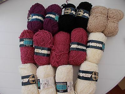 Knitting Patterns Astrakhan Wool : 160g Emu Mystique vintage yarn(20%Mohair) Grey 4/5mm   ? ...
