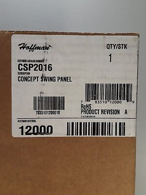 Hoffman CSP2016 Panel, Swing-Out 17.78x13.84
