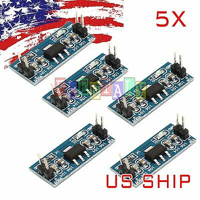 5Pcs DC/DC 4.5V-7V to 3.3V AMS1117-3.3V Power Supply Module Volt Regulator N24