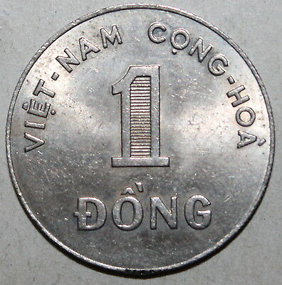 South Vietnam 1 Đồng Coin, 1964 - KM# 7 - Viet Nam - One Dong - Rice
