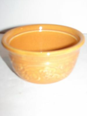 Homer Laughlin, Oven Serve, Vintage, Ramekin, Small Bowl, Pumpkin Orange