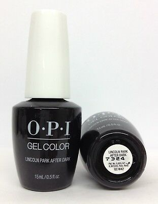 New Package Gelcolor-Soak Off Gel Nail Polish-opi LINCOLN PARK-GCW42- 0.5oz/15ml