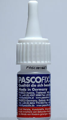 Pasco Fix Sekundenkleber Industriekleber PascoFix 10ml