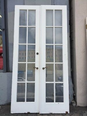 French Doors 95x48 Opening Tempered Glass